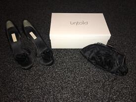 Untold Alexa shoes and matching bag