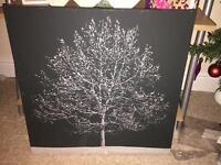 Large Tree Canvas.