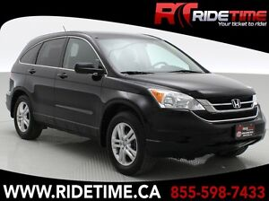 2011 Honda CR-V EX-L 4WD - Leather, Sunroof ONLY $148 Bi-Weekly!