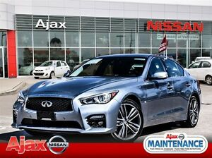 2015 Infiniti Q50 Sport*Accident Free*One Owner*