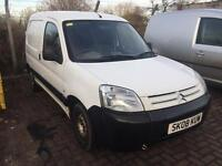 Bargain Citroen Berlingo 1.6 hdi van, MOTD ready for work! Rear seats fitted also