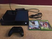 Xbox One Console with 3 Games, GTA V, Battlefront and FIFA