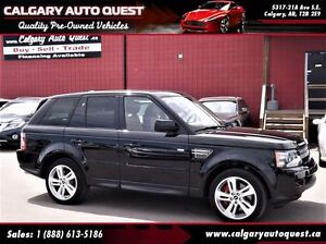 2013 Land Rover Range Rover Sport Supercharged / 4WD / NAVIGATIO