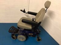 2013 Pride Jazzy Select 6 Powerchair in Blue MWD ELECTRIC WHEELCHAIR