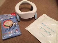 Potette Travel Potty & 30 liners, never used