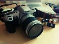 Canon EOS 500N + 28-90mm lense