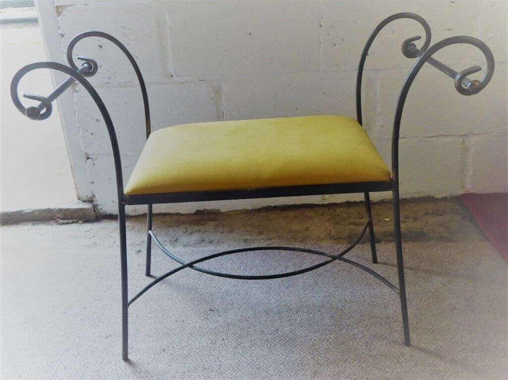 Tremendous Wrought Iron Window Seat With Removable Seat Cushion Garden Chair In Dereham Norfolk Gumtree Ibusinesslaw Wood Chair Design Ideas Ibusinesslaworg