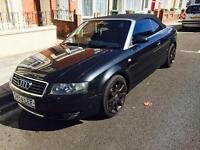 AUDI A4 S-LINE DIESEL 6 SPEED MANUAL CONVERTIBLE NEW MOT PORTSMOUTH