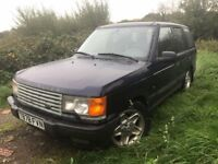 RANGE ROVER 1999 LEFT HAND AUTO 1 OWNER FROM NEW TEL 07377926604