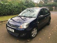 FORD FIESTA ZETEC CLIMATE TDCI 2006 5 DOOR HATCH 100k F S HISTORY LONG MOT