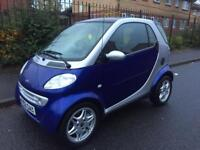 SMART CAR FORTWO AUTOMATIC LOW MILEAGE CHEAP TO RUN
