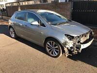 2011 11 VAUXHALL ASTRA SE 1.6 PETROL 13K MILES LIGHT DAMAGE/SALVAGE REPAIRABLE CAT D