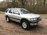 Vauxhall frontera 4x4, 3.2 v6, automatic, 12 months MOT, 110k miles