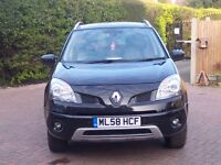 2009 Renault Koleos 2.0 Priviledge DCI 4WD 5dr 12 month MOT FSH 3month/3000miles warranty Black