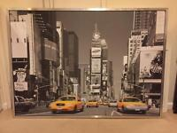Ikea New York Large print with frame