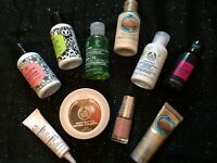 BODY SHOP ITEMS BUNDLE. OVER £50 WORTH OF GOODS.NEW