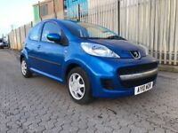 2010│Peugeot 107 1.0 12v Urban 2-Tronic 5dr Automatic │1 FORMER KEEPER │Months Warranty