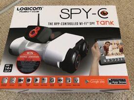 Spy C app controlled tank