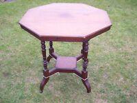 Antique Vintage Wooden Table
