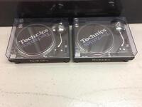 Technics 1210 MK3 pair like new