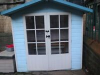 Children's Wendy play house/ gazebo/ summer house for sale and in good condition