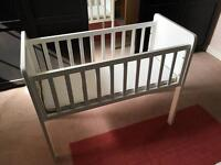 Mothercare Hyde crib and Airflow mattress