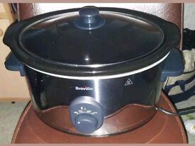 Breville Slow Cooker Model ITP137 4.5L excellent condition