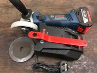 Bosch gws 18 v-li Bosch 18v li-ion cordless grinder cutter cutting