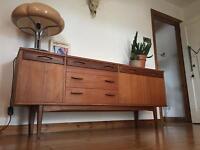SOLDMid century vintage retro sideboard