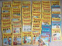 Job Lot Over 50 Vintage Twinkle Comic Magazine 1982 Summer Special