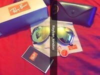Rayban aviator wayfarer men's women's sunglasses new box free local delivery