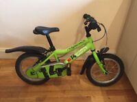 Ridgeback MX14 kids bike plus stabilisers