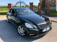 2012 61 MERCEDES E350 AMG SPORT EDITION 125 FULLY LOADED HPI CLEAR FMBSH 1 OWNER