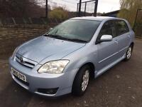 2005 TOYOTA COROLLA 1.4 D4D,ONE LADY OWNER,£30 ROAD TAX,CHEAP INSURANCE GROUP