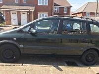Vauxhall zafira 7 seater 1.8 petrol