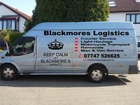Man and van courier, logistics and Removals. Same day, next day service. Exeter based.