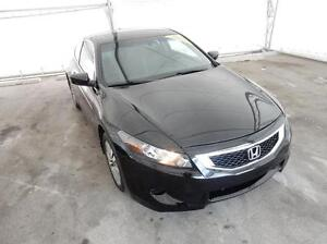 2009 Honda Accord Coupe EX-L at - LEATHER! 2 SETS RIMS/TIRES!