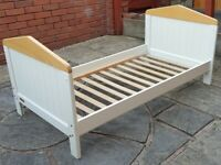 Mamas & Papas toddler bed frame. Very good clean condition.