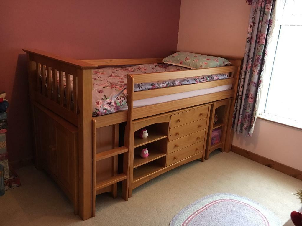 Julian Bowen children's sleep station bed.