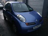 Nissan micra s 1.2 3dr, long MOT low miles, great condition, cheap to run tax and insure