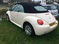 05 vw beetle convertible 1.6 absolute bargain