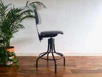 Vintage Industrial Factory / Office Chair