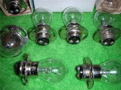 LOT OF 4 #1460 LIGHT BULB BULBS LAMP SPOTLIGHT NOS SPOT FOG 17.8 WATT 6.5 VOLT
