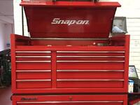 """Snap on 55"""" top box"""