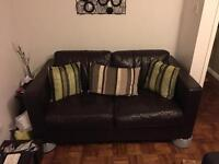 PRICE DROPPED two seater sofa settees x2