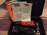 Black & Decker RT650 Multi-Tool plus Case