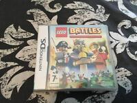 Nintendo DS Lego battles new and sealed