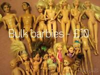 Bratz, barbies and baby