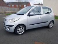 2010 '10' Hyundai I-10 1.2 Style £30 Year Tax Mot Feb 19 1 P/Owner Heated seats Elec roof A/c