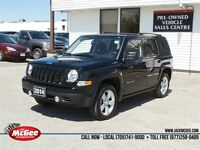 2014 Jeep Patriot North Edition 4x4 - 5-Spd Manual, Heated Seats